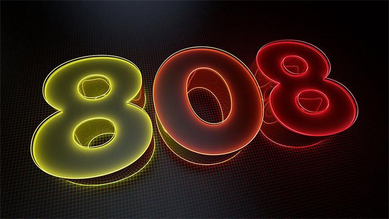 808 logo