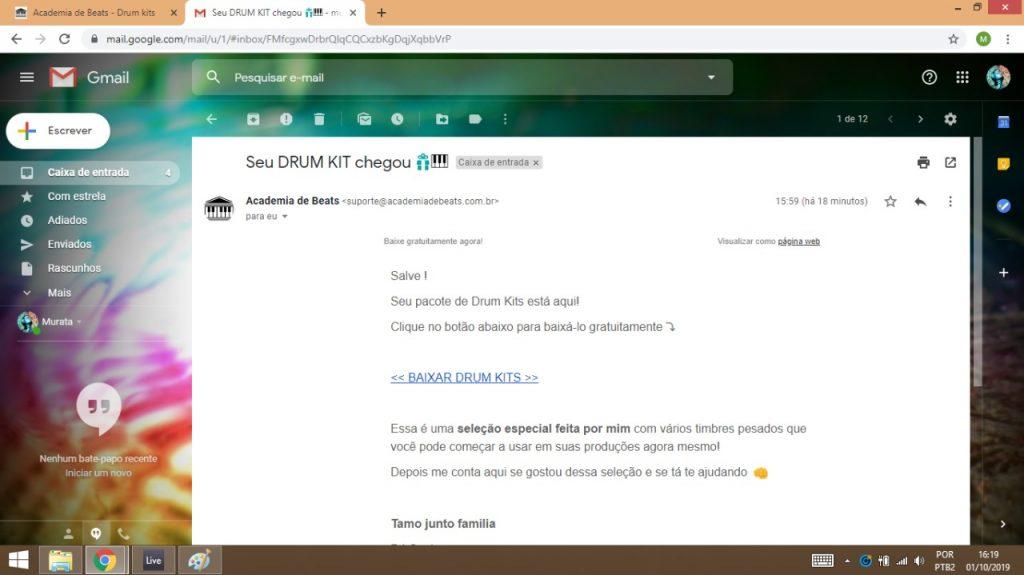 email-drumkit